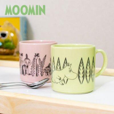 MOOMIN(ムーミン) レヘティアマグカップ 350ml 絵柄が可愛いマグカップ