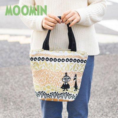 MOOMIN(ムーミン) ボタニス ゴブラン織りミニバッグ ゴブラン織りリトルミイの小さめトートバッグ