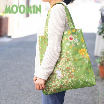 MOOMIN(ムーミン) 縦長トートバッグ 大容量の可愛いムーミントートバッグ