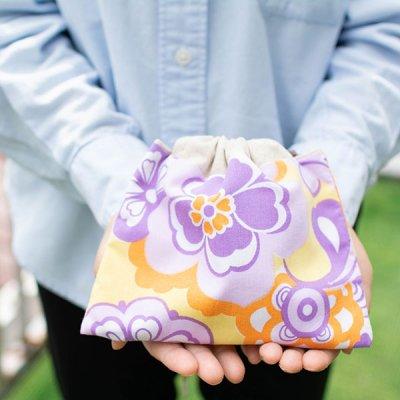 HANA(ハナ) 花柄巾着 小物の仕分けに便利な巾着