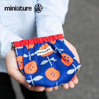 miniature(ミニチュア) 口金バネ ポーチ 小物の仕分けに便利な口金ポーチ