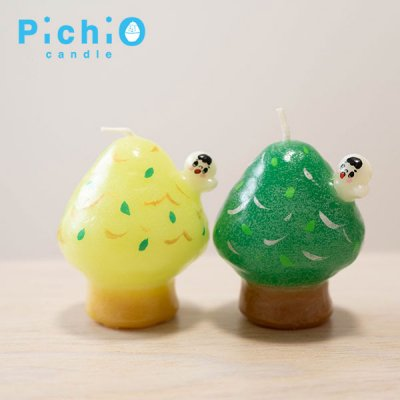 ☆pichio candle(ピチオキャンドル) 絵付けキャンドル
