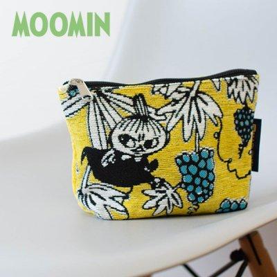 MOOMIN(ムーミン) リトルミイ ゴブラン織りポーチ 色鮮やかなファスナーポーチ