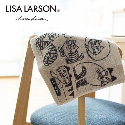 ☆LISA LARSON(リサラーソン) スケッチキャットミニタオル