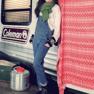 韓国 ファッション パンツ デニム ジーパン ボトムス 秋 冬 カジュアル PTX3854  ロールアップ オールインワン サロペット オルチャン シンプル 定番 セレカジ