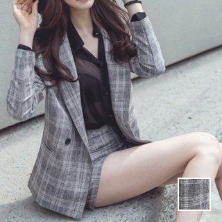 韓国 ファッション パンツ セットアップ パーティードレス 結婚式 お呼ばれドレス 秋 冬 春 パーティー ブライダル PTX6774  カジュアルジャケット ショートパンツ 二次会 セレブ きれいめ