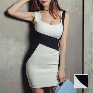 韓国 ファッション ワンピース パーティードレス ショート ミニ丈 春 夏 パーティー ブライダル PTX9850 結婚式 お呼ばれ ウエストマーク シェーディング ミニ 二次会 セレブ きれいめ