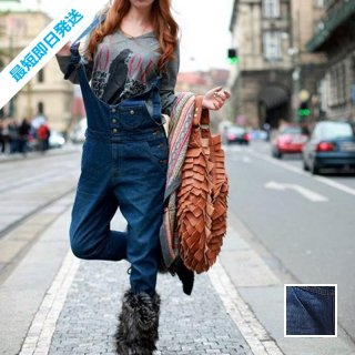 【即納】韓国 ファッション パンツ デニム ジーパン ボトムス 秋 冬 カジュアル SPTX3877  オールインワン サロペット パンツ Gパン ロング ウォッ オルチャン シンプル 定番 セレカジ