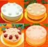 シンプルなバースデーケーキ