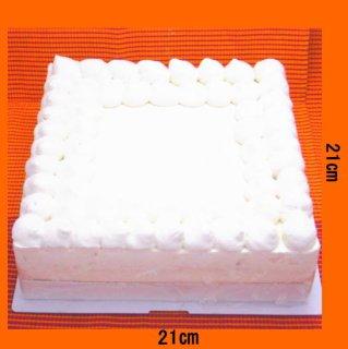 四角いケーキ約20人分(大豆ゼラチン使用)
