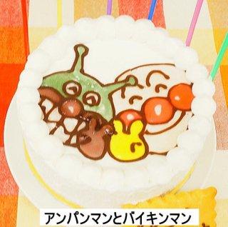キャラクターケーキ(大豆ゼラチン含)