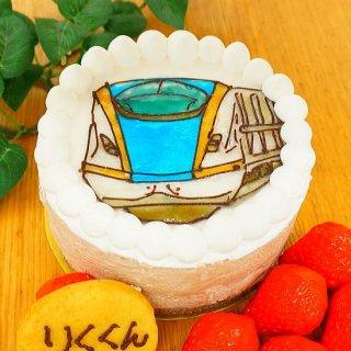 キャラクターケーキ チョコ(大豆ゼラチン含)