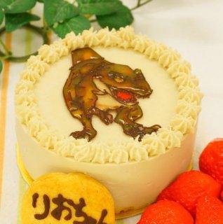 (特ア27不使用)キャラクター カスタードケーキ