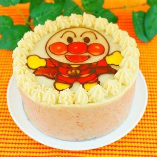 (特ア27不使用)キャラクター イチゴクリームケーキ