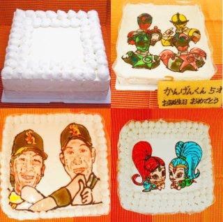 パーティー用ケーキ約30人分(大豆ゼラチン使用)