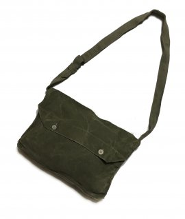 French army Linen shoulder bag