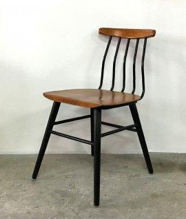 Sweden vintage wood×iron chair