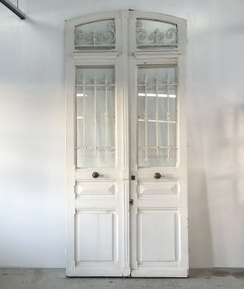 Pair of French iron Doors