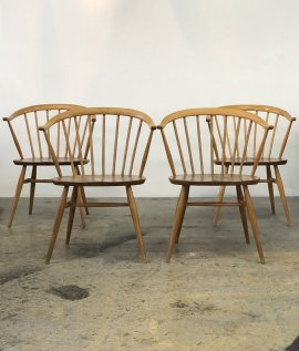 ERCOL Smokers chair  4set