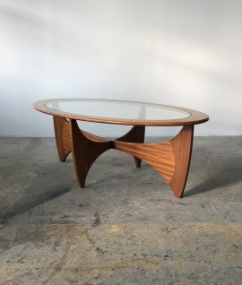 G-Plan E.Gomme oval center table