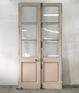 Pair of french glass doors