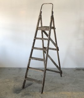 Antique step ladder