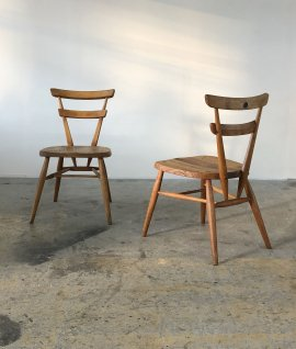 "Ercol Stacking Chair ""BLUE DOT"" 2脚セット"