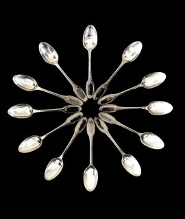 """christofle"" spoon"