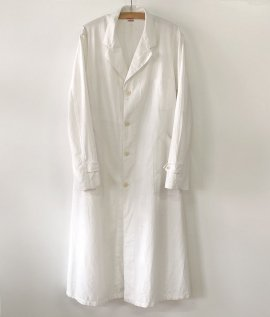 French linen aterier coat
