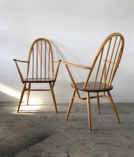 ERCOL  Quaker arm chair 2set