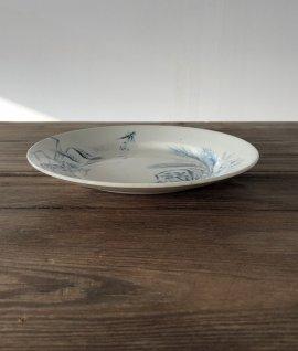 France antique plate