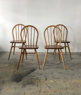 ERCOL Hoop back chair 4脚セット