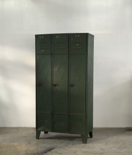 "Industrial Metal Locker FROM ""France"""