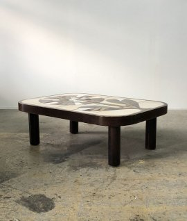 Ceramic coffee table by