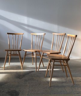 ERCOL Stick back chair 4set