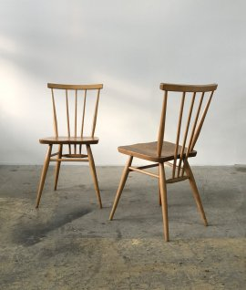 ERCOL Stick back chair 2set