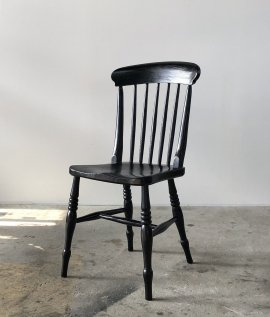 Black Paint Windsor Chair
