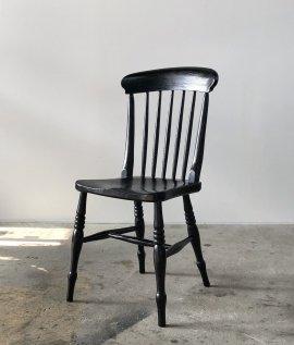 Black Paint Windsor Chair