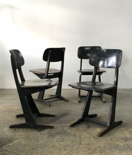 French Cafe chair 4set