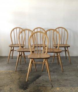 ERCOL Hoop back chair 6 set
