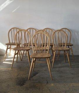 ERCOL Hoop back chair 8set