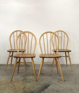 ERCOL Hoop back chair 4set