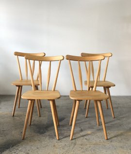 Vintage Cafe Chair 4set