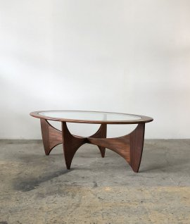 G-Plan E.Gomme oval center table