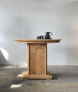 Oval Display Table