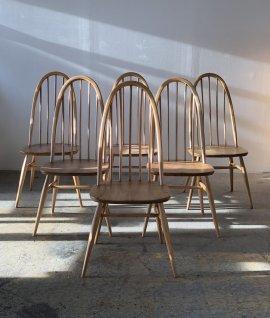 ERCOL Quaker Chair 6set