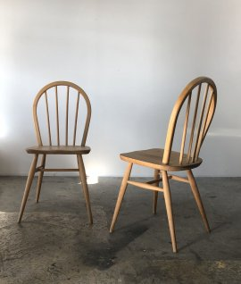ERCOL Hoop back chair 2脚セット
