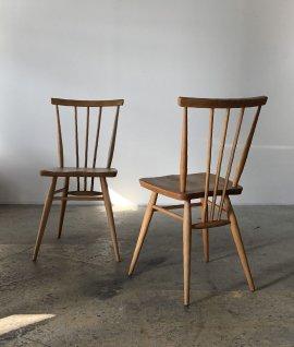 ERCOL Stick back chair 2set
