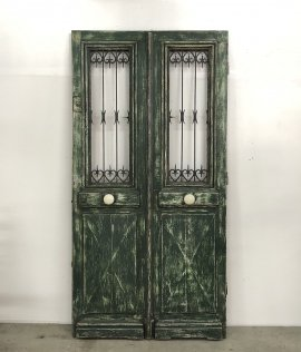 French iron Doors