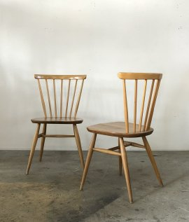ERCOL Fan back chair 2set